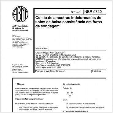 NBR9820 de 09/1997