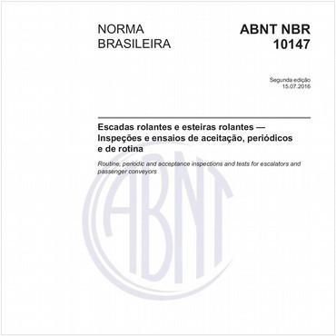 NBR10147 de 07/2016