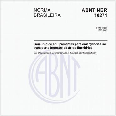 NBR10271 de 05/2021