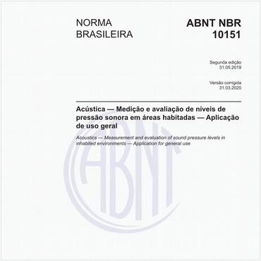 NBR10151 de 05/2019