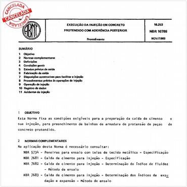 NBR10788 de 11/1989