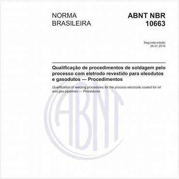 NBR10663 de 01/2016