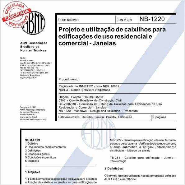 NBR10831 de 01/2011