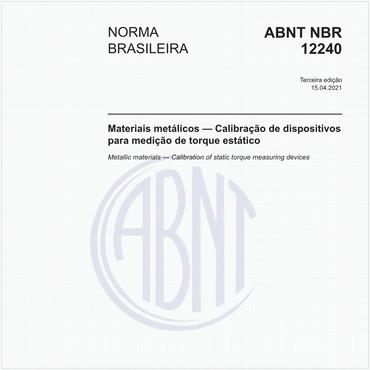 NBR12240 de 10/2013
