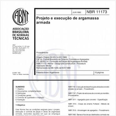 NBR11173 de 06/1990