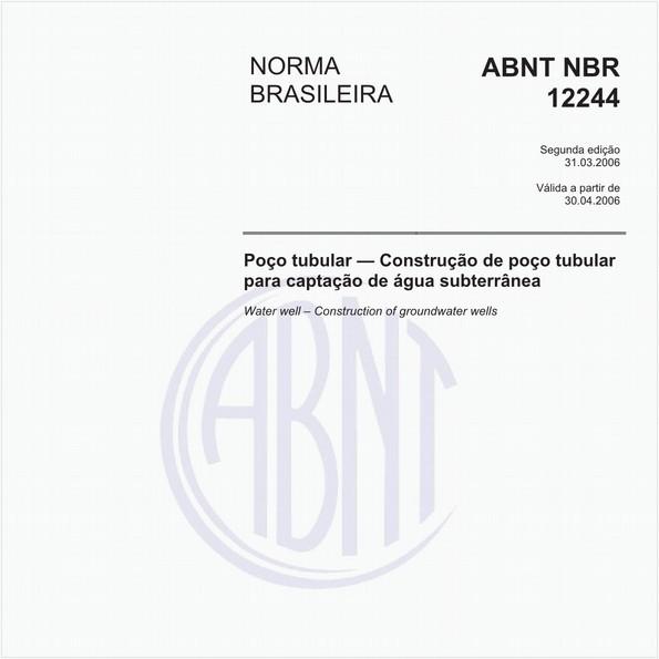 NBR12244 de 03/2006
