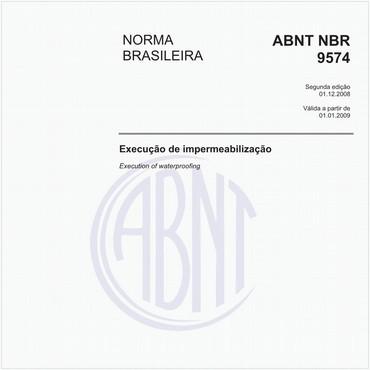NBR9574 de 12/2008