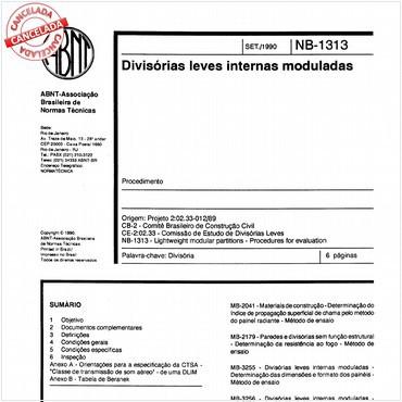 NBR11681 de 09/1990