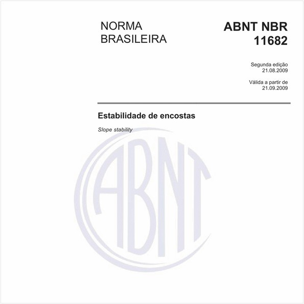 NBR11682 de 08/2009