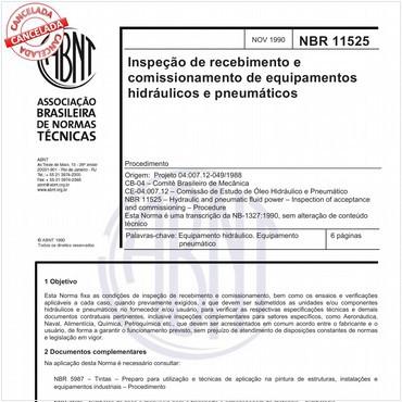 NBR11525 de 11/1990