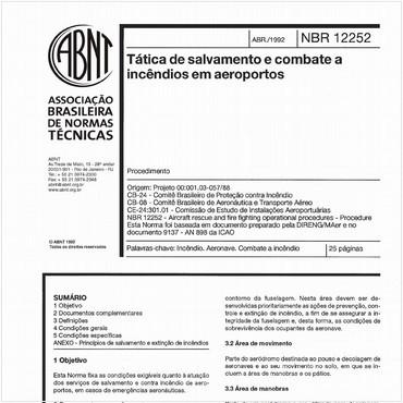 NBR12252 de 04/1992