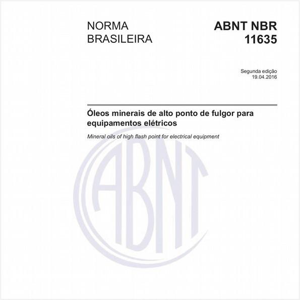 NBR11635 de 04/2016