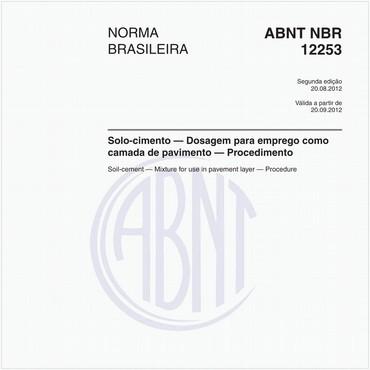 NBR12253 de 08/2012