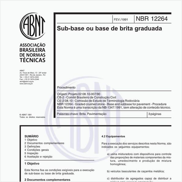 NBR12264 de 02/1991
