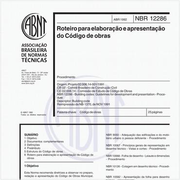 NBR12286 de 04/1992