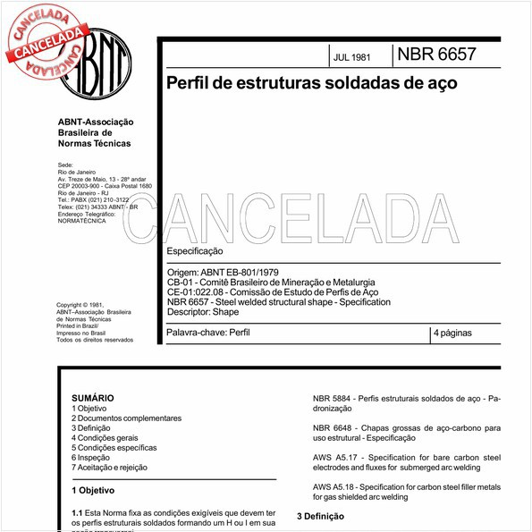 NBR6657 de 07/2000