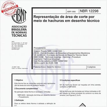 NBR12298 de 04/1995