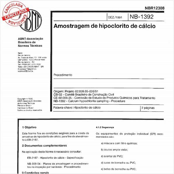 NBR12308 de 04/2015