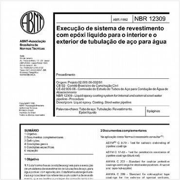 NBR12309 de 04/1992