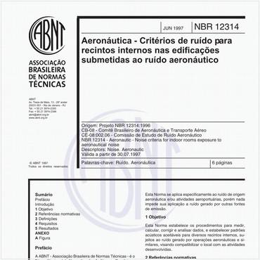 NBR12314 de 06/1997