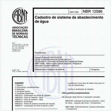 NBR12586 de 04/1992