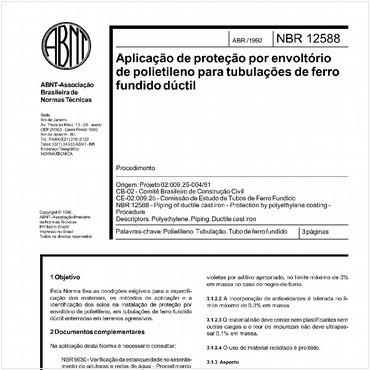 NBR12588 de 04/1992