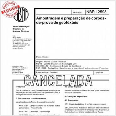 NBR12593 de 04/1992
