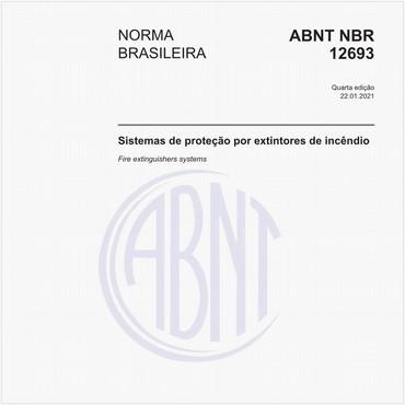 NBR12693 de 09/2013