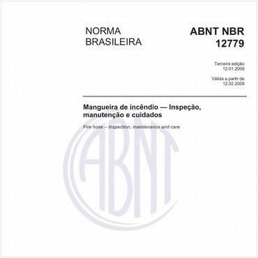 NBR12779 de 01/2009