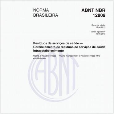 NBR12809 de 04/2013