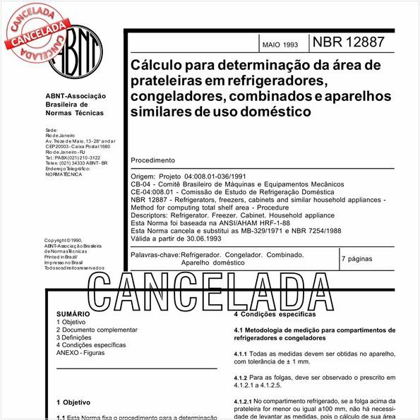 NBR12887 de 10/2012