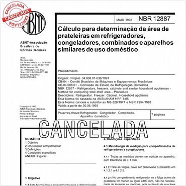 NBR12887 de 05/1993