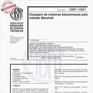 NBR12891 de 07/1993