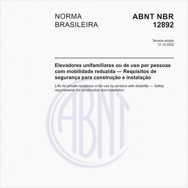 NBR12892 de 05/2009