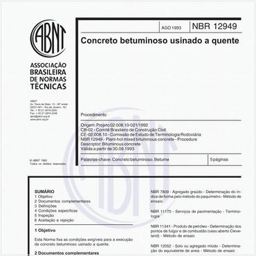 NBR12949 de 08/1993