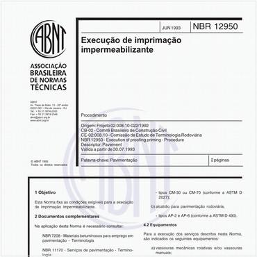 NBR12950 de 06/1993