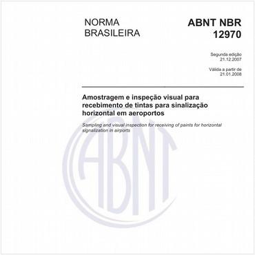 NBR12970 de 12/2007