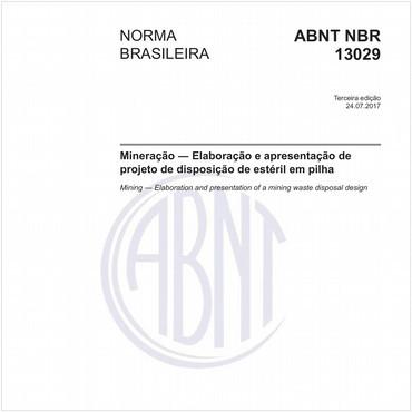 NBR13029 de 07/2017