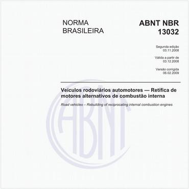 NBR13032 de 11/2008