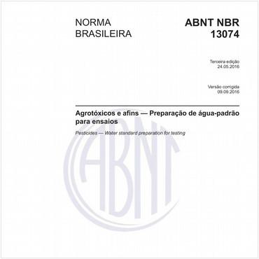 NBR13074 de 05/2016