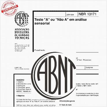 NBR13171 de 06/1994