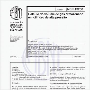 NBR13200 de 08/1994