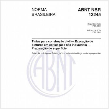 NBR13245 de 05/2011