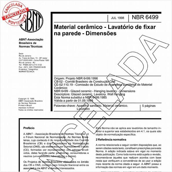 NBR6499 de 06/2004