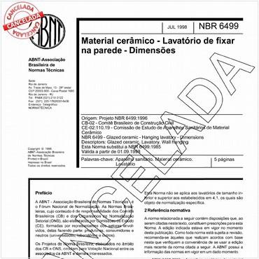 NBR6499 de 07/1998