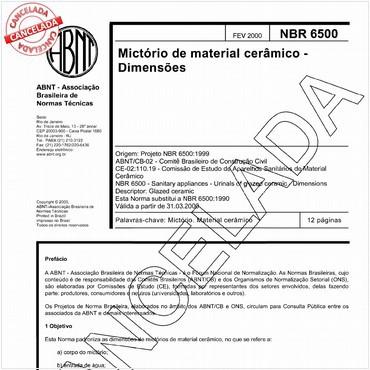 NBR6500 de 02/2000