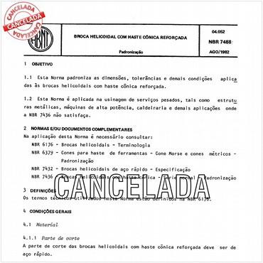 NBR7488 de 08/1982