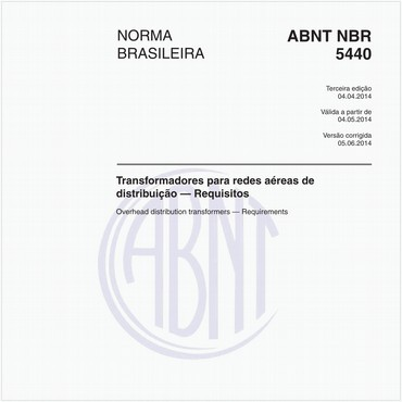 NBR5440 de 04/2014