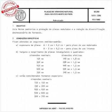 NBR7206 de 02/1982