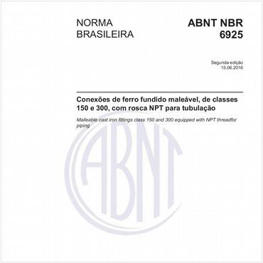 NBR6925 de 06/2016